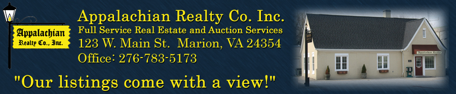 Marion Homes for Sale. Real Estate in Marion, Virginia – Vickie Stamper